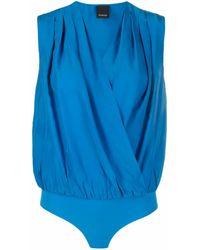 Pinko Klassischer Body - Blau