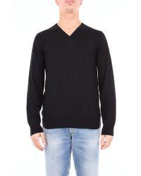 Laneus - Black Silk Sweater - Lyst