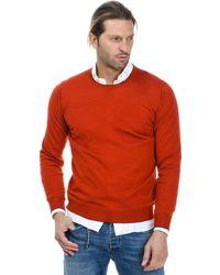 Altea Orange Wool Sweater