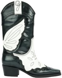 Ganni High Texas Boot - Black