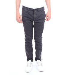 40weft Grey Cotton Pants