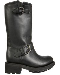 Ash Toxic02waxy Other Materials Boots - Black