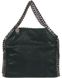 Stella McCartney Bottle Falabella Chain 3 Bag Green
