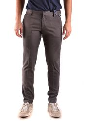 AT.P.CO Brown Cotton Trousers