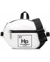 Heron Preston Gürteltasche mit Logo-Print - Weiß