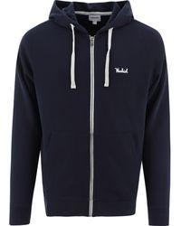 Woolrich Cotton Sweatshirt - Blue
