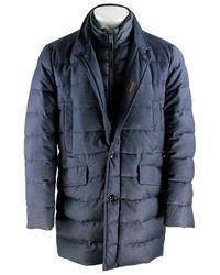 Moorer Cashmere Down Jacket - Blue