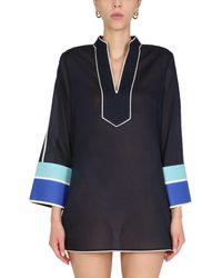 Tory Burch Other Materials Dress - Blue
