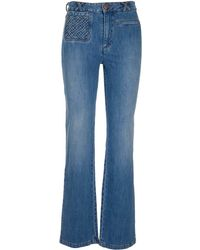 See By Chloé Other Materials Jeans - Blue