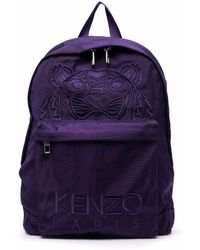 KENZO Fa65sf300f2080 polyester rucksack - Lila