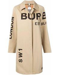 Burberry Coat - Natural