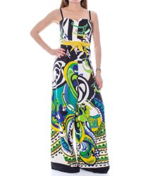 Rinascimento Multicolour Polyester Jumpsuit