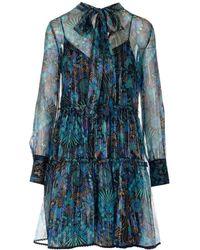 See By Chloé Silk Dress - Blue