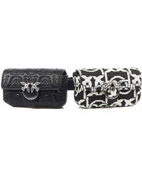 Pinko Belt Bag - Black