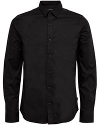 Only & Sons Black Cotton Shirt