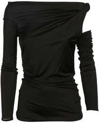 Pinko 1b13n50252z99 baumwolle pullover - Schwarz