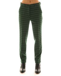 Etro Polyester Pants - Green