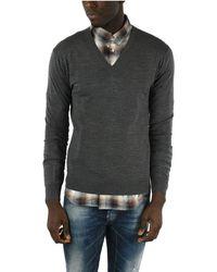 DSquared² Wool Sweater - Grey