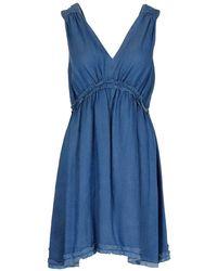 Pinko Polyamide Dress - Blue