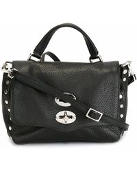 Zanellato Leather Handbag - Black