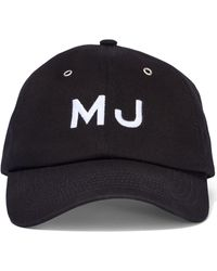 Marc Jacobs 'the Cap' Embroidered Baseball Cap - Black