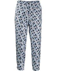 Marni Cropped-Hose mit Print - Mehrfarbig