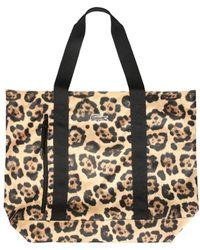 Lacoste Polyester Shoulder Bag - Brown