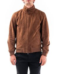 Brooksfield Suede Outerwear Jacket - Brown