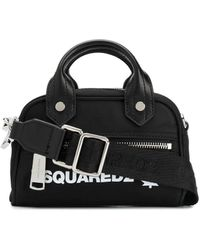 DSquared² Polyester Handbag - Black