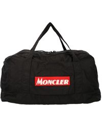 Moncler Black Polyamide Travel Bag