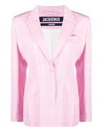 Jacquemus Klassischer Blazer - Pink