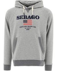 Sebago 72111cwbowlineemby77m Other Materials Sweatshirt - Grey