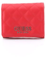 Guess Swvg7667430 Polyester Wallet - Red