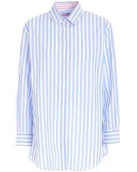 Mc2 Saint Barth Brigittebsbg32 Other Materials Shirt - Blue