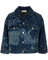 RED Valentino - ANDERE MATERIALIEN JACKE - Lyst