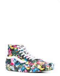 KENZO X Vans Floral Print Sk8-hi Sneakers - Green