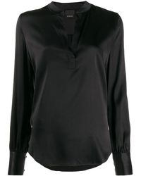 Pinko Silk Blouse - Black