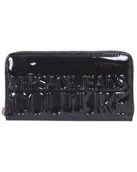 Versace Jeans Couture 71va5pr1zs078899 andere materialien brieftaschen - Schwarz