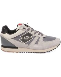 Lotto Leggenda Fabric Trainers - Grey