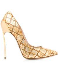 Casadei Leather Sandals - Metallic