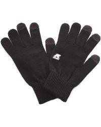 K-Way Cotton Gloves - Black