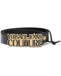 Versace Jeans Couture Cintura 71ya6f04zp059g89 pelle - Nero