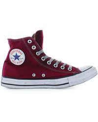 Converse 160152c andere materialien hi top sneakers - Lila