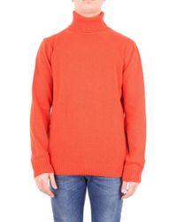 Jeordie's Orange Wool Sweater