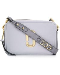Marc Jacobs Light Blue Leather Shoulder Bag