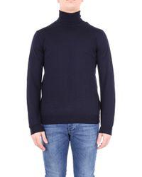 Altea Blue Wool Sweater