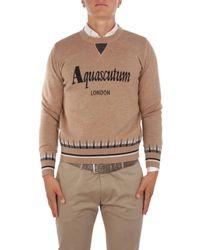 Aquascutum Sweater - Brown