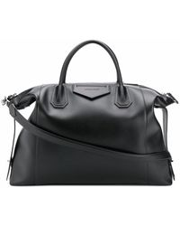 Givenchy Leather Travel Bag - Black
