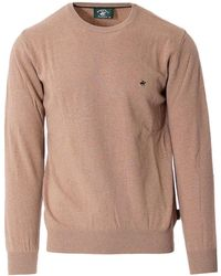 Beverly Hills Polo Club Beige Wool Jumper - Natural