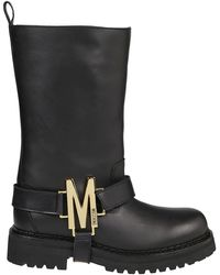 Moschino Other Materials Boots - Black